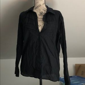 Style & Co lightweight black blouse, size 12